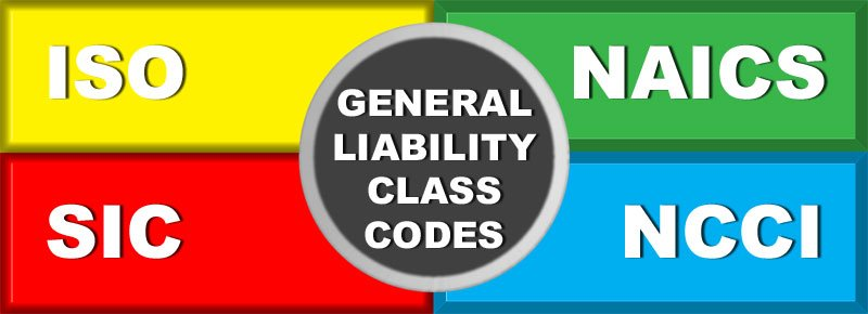 General Liability Insurance Class-Codes