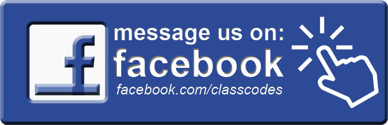 Class Codes Contact Facebook