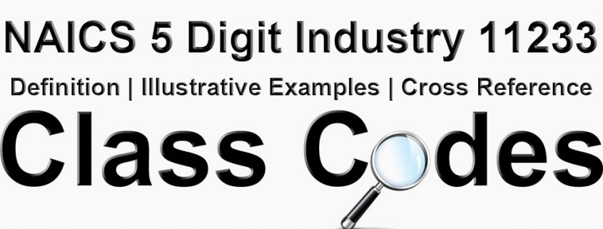 NAICS 5 Digit Industry 11233