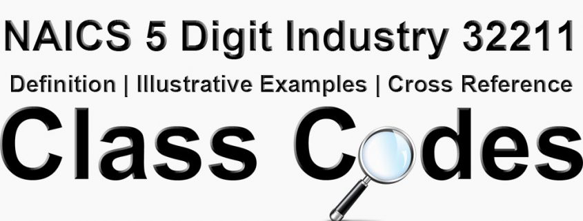 NAICS 5 Digit Industry 32211
