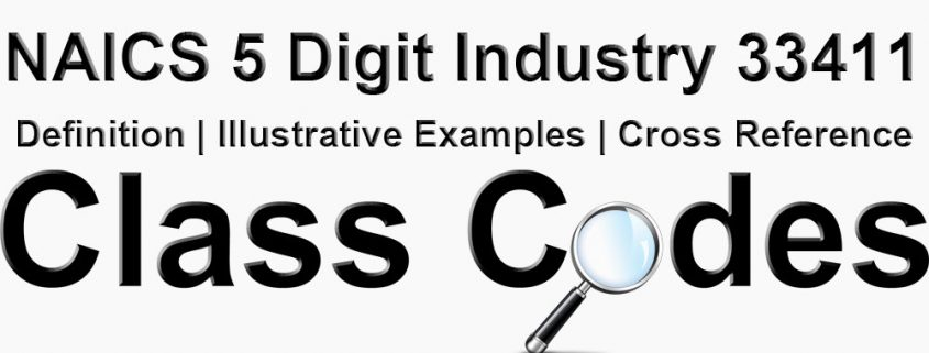 NAICS 5 Digit Industry 33411