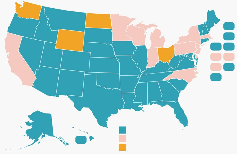 Workers Compensation Map