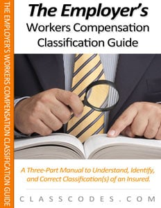 Workers Compensation Insurance Classification Codes